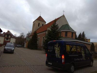 W drodze do Parafii pw. św. Jana Bosko, Figura św. Michała Archanioła nawiedziła i naszą Parafię (1 marca 2019)