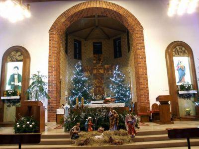 Świąteczny wystrój naszego kościoła - Boże Narodzenie 2020